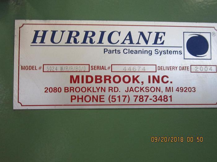 2004 Midbrook -  Hurricane  Belt Washer 5024- W/R/R/BO/D