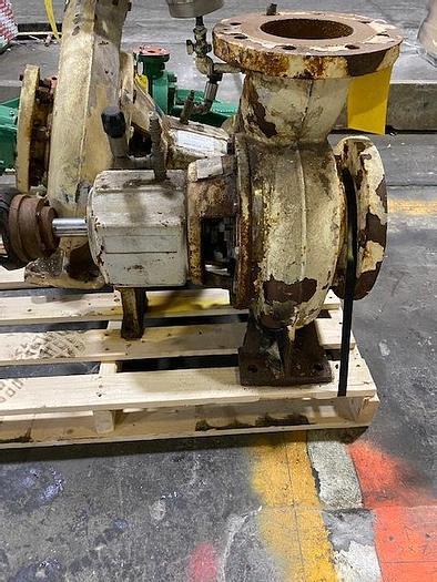 Used AHLSTROM  SULZER APT 33 -4C CENTRIFUGAL PUMP  CI/SS