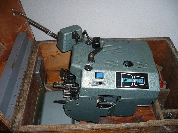 Gebraucht Webketten-Anknüpfmaschine FISCHER-POEGE  PU-KL 210.0