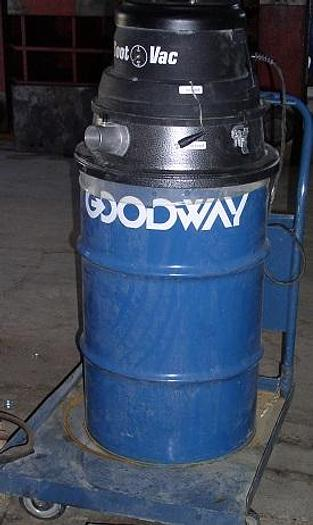 Used 270 CFM Goodway Model GTC-540 Soot-Vac; Mfg. 2006
