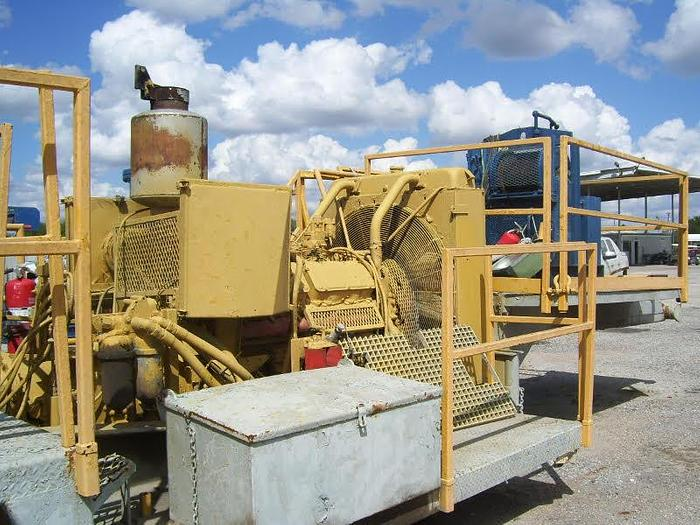 National OilWell E-2000 hp single drum rig Oilwell E2000