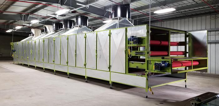 Used Continuous Multi Level Belt Dryer PPUH Agro CBD 420