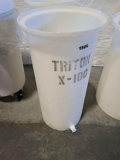 Triton X 100 Polypro Container 150 Liters Plastic Barrel