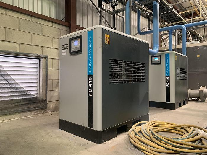 Used 2018 ATLAS COPCO FD 410A IEC Air Dryer