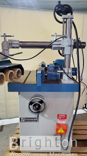 Used Boss LS-525M used Shaper w/ Co-Matic AF44 feeder