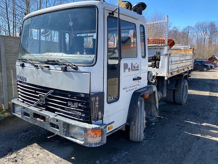 Gebruikt 1987 VOLVO FL6.11 kipper /crane