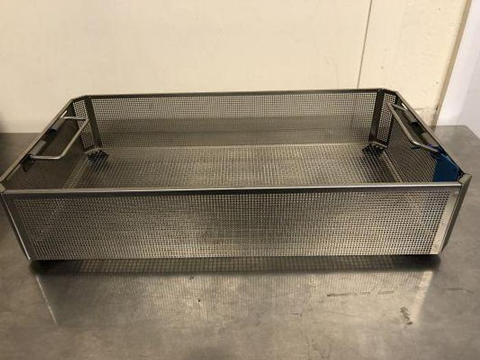 Used Aesculap Tray Sterilisation Stainless Steel 490 x 255 x 105mm GB246R