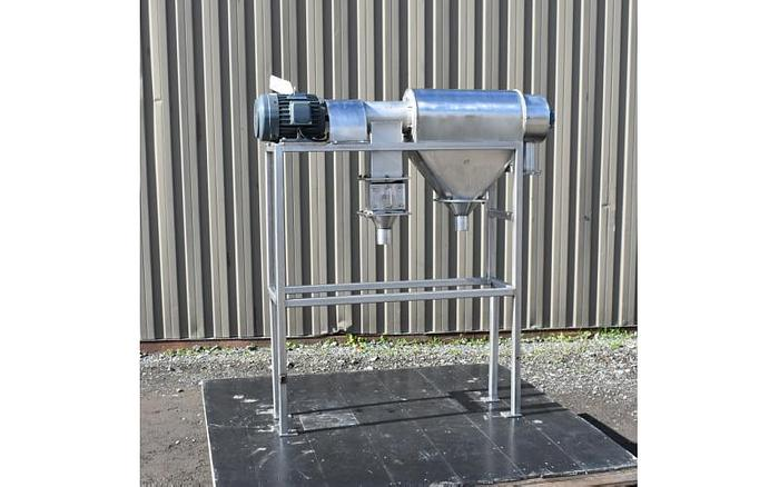 Used USED CENTRIFUGAL ROTARY SCREEN, STAINLESS STEEL