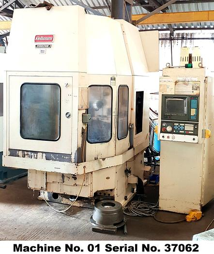 Fellows HydroStroke FS400 - 125 CNC Gear Shaper (Machine No. 1)