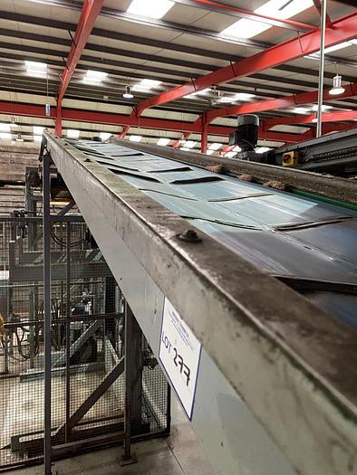 Used Steel Conveyor 6.5m L 0.65m W