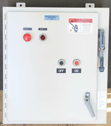 Used Peninsula Control Panels Inc. 95-0308 Rev G & Hoffman A245A2208LP (4518)
