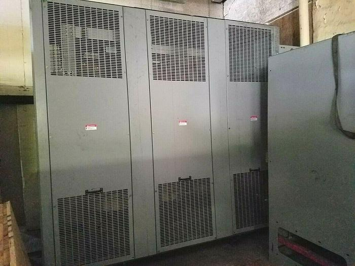 Used Siemens Switch Gear Model #T15G 14000 volts 150 amps 480/270v 3 phase