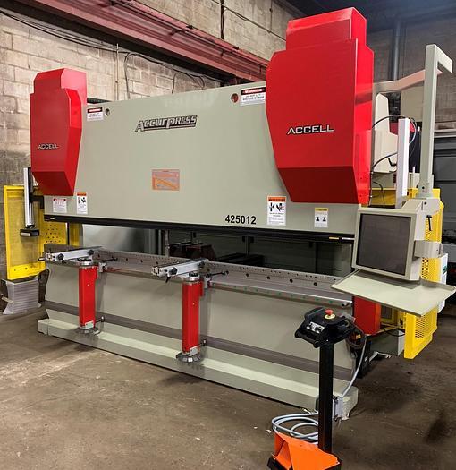 "250 TON X 12', "" NEW "" ACCURPRESS, 9-AXIS, CNC PRESS BRAKE"