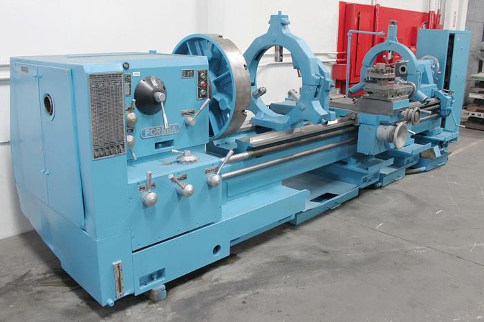 "Used Poreba Heavy Duty Engine Lathe 32""/42"" x 120"""