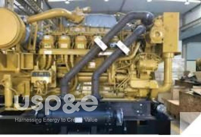 Used 1.04 MW 2017 USED CATERPILLAR C3512C DIESEL GENERATOR SETS