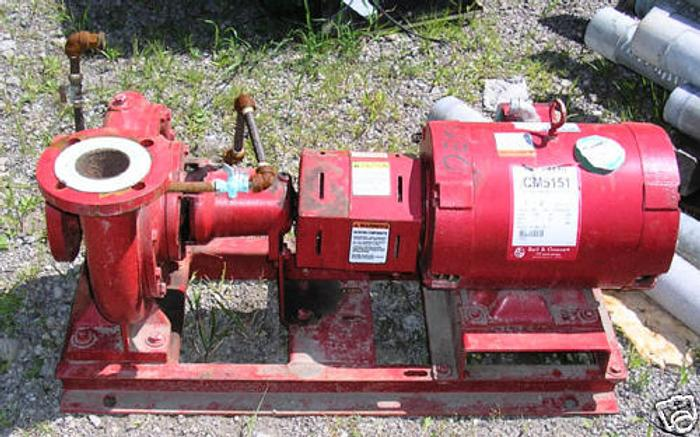 Bell & Gossett Cent, Pump 7 1/2 HP Steel,