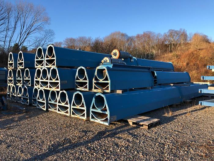 Used 2010 Ship loading conveyor with crane