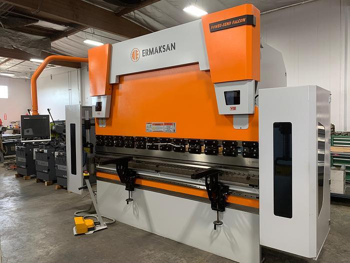 110 Ton x 8.53' Ermak Power Bend Falcon CNC Press Brake *NEW - IN STOCK*