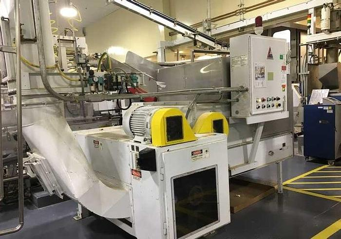 """Used 48"""" BLOAPCO MDL. 3CX-1548H FLOOR MOUNTED SHREDDER CARDBOARD AND CORES"""