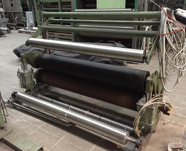Used SQUEEZING IMPREGNATION PADDER 1987 OMEZ 1800 mm