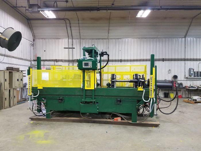 2002 HARRISON 3030 SHELL CORE MACHINE - DOUBLE STATION