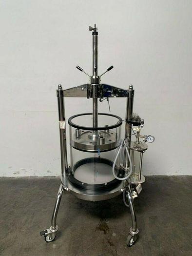 Used Millipore Quikscale GAP 450x550 86 L Chromatography Column w/ Column Bubble Trap