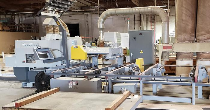 Cameron Automation Automated Rip Saw w/ Infeed