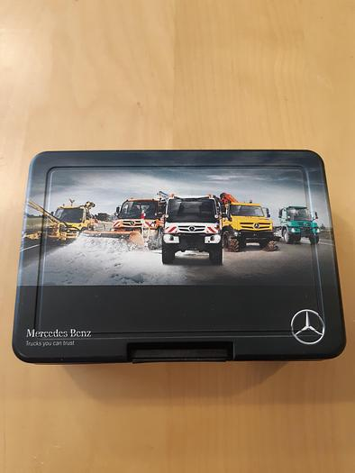 Used Mercedes Benz Unimog Sandwich Box
