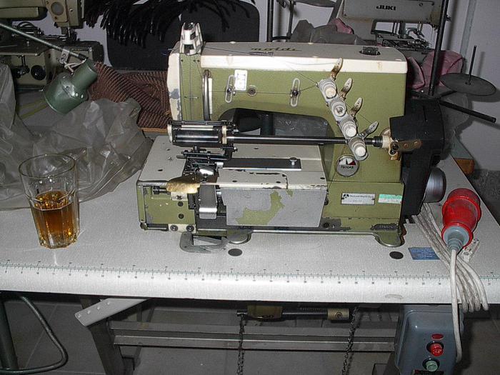 Gebraucht 2-Nadel-Doppelkettenstich RIMOLDI  Kl. 261-34-3DR-8