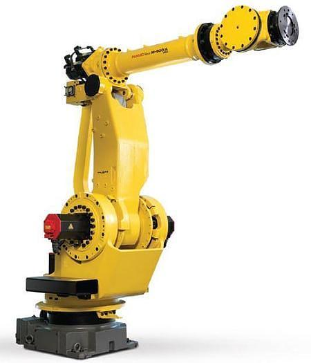 Used 2010 FANUC M900iA/260L 6 AXIS CNC ROBOT WITH R30iA CONTROLLER