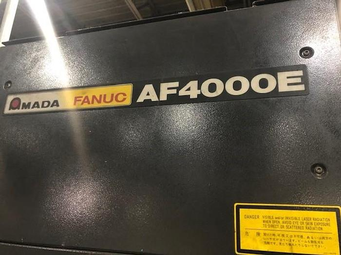 4000 WATT, AMADA, FO-3015, 5' X 10', CNC LASER