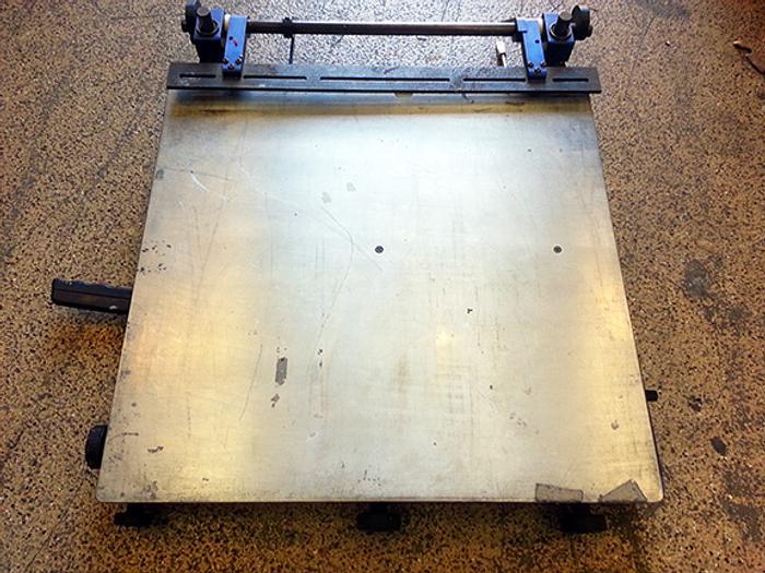 Speedset Manual Vertical Separation Stencil Printer