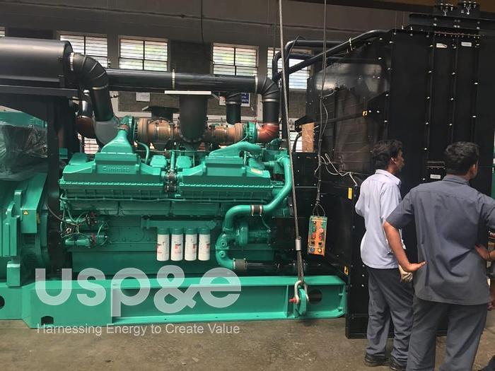 Used 2 MW 2021 New Cummins QSK60G4 Diesel Generator