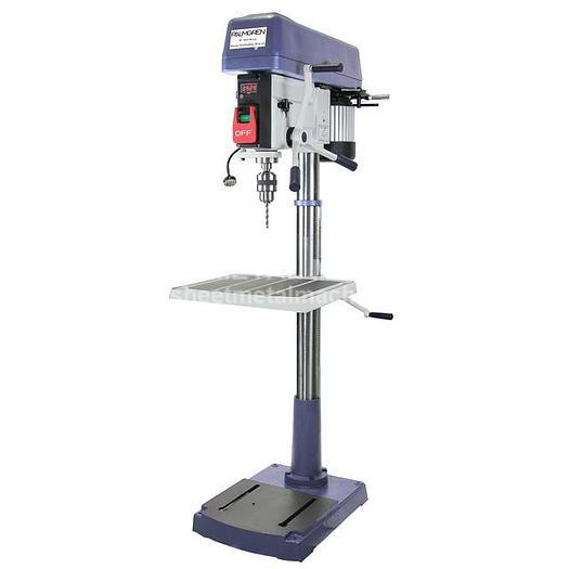 PALMGREN 16-Speed Floor Step Pulley Drill Press (1 PH) 9680209
