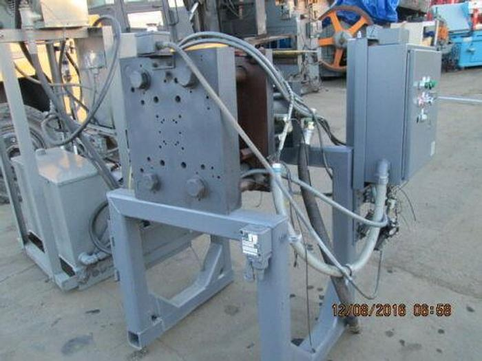 150 TON HYDRAULIC PRESS STAND WITH EXPENSIVE 25 H.P. POWER UNIT