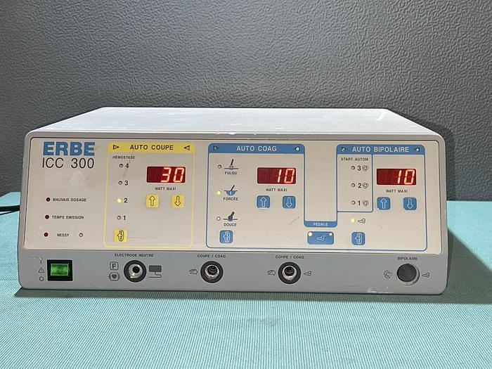Used HF ERBE ICC300