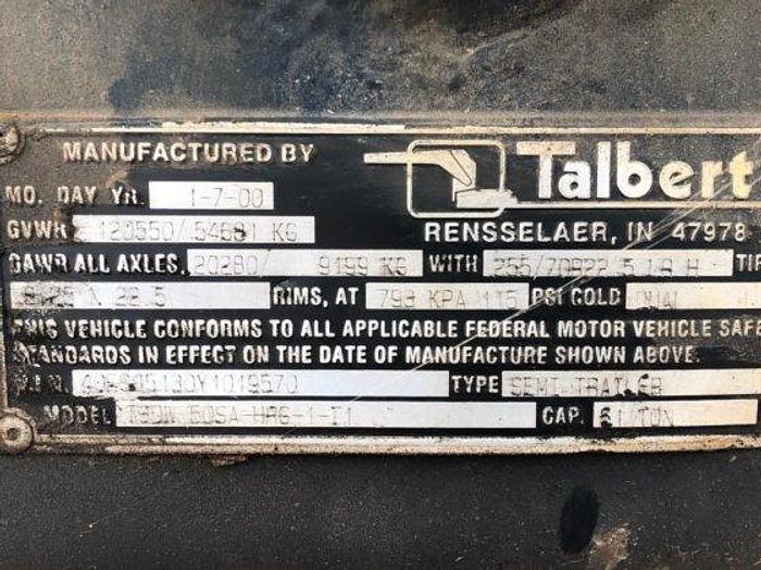 2000 TALBERT T3DW 50SA  HRG-1-T1