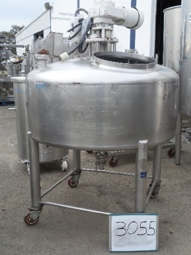 Crepaco 150 Gallon Crepaco Agitated Mix Tank #3055