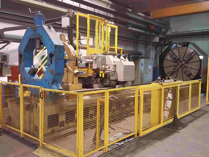 TORNIO PARALLELO A TRE GUIDE SAFOP LEONARD 70-750 CNC