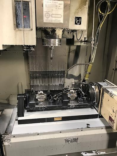 2010 HARDINGE-BRIDGEPORT XR760 VMC PRODUCTION CENTER