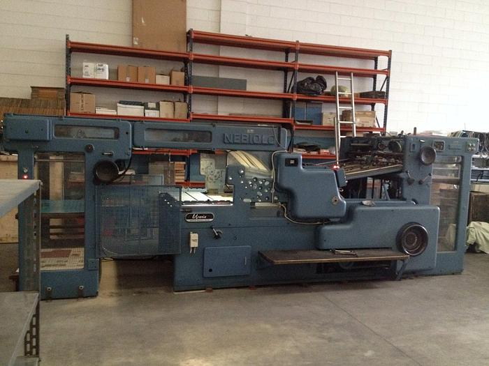NEBIOLO URANIA DIE CUTTING MACHINE