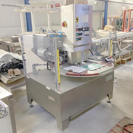 Gebraucht gebr. Siegelmaschine ILPRA-Italy zum Verschließen von Kunststoffbechern