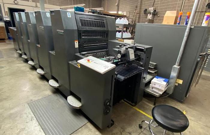 Used Heidelberg SM 52, 5P3-H Color with Aqueous Coater, 1999 Not Available Until March