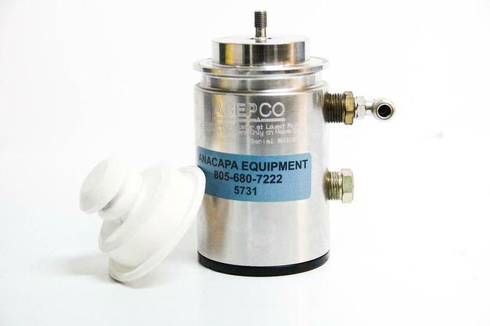 Used ASEPCO Radial Tank Valve Actuator AJS Pneumatic PN17 Size 1.5 & Diaphragm (5731)