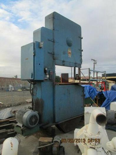 Used TANNEWITZ MODEL S1NE VERTICAL BAND SAW