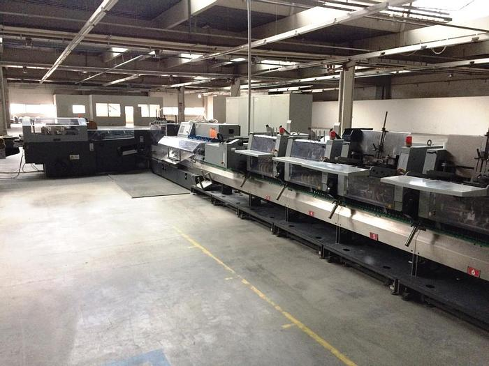 Used Heidelberg ST 400 saddle-stitching 2003 year model