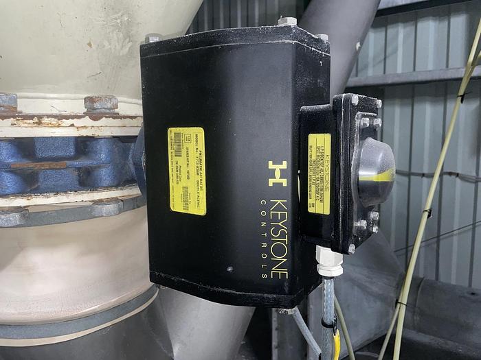 Used KEYSTONE F79E 036M Pneumatic Actuator