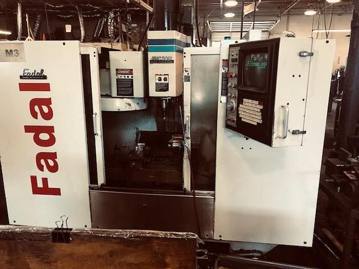 Used 2001 FADAL VMC-4020 Vertical Machining Center