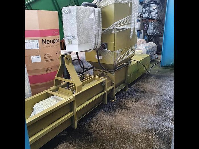 Used EPS Polystyrene baler compactor