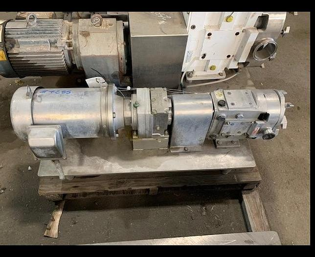 """Used AMPCO 1.5""""x 1.5"""" Positive Displacement Stainless Steel Pump"""